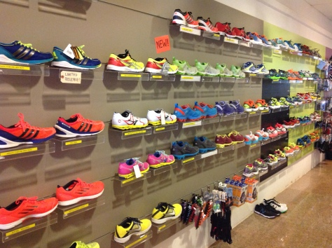 The Great Wall of Shoes