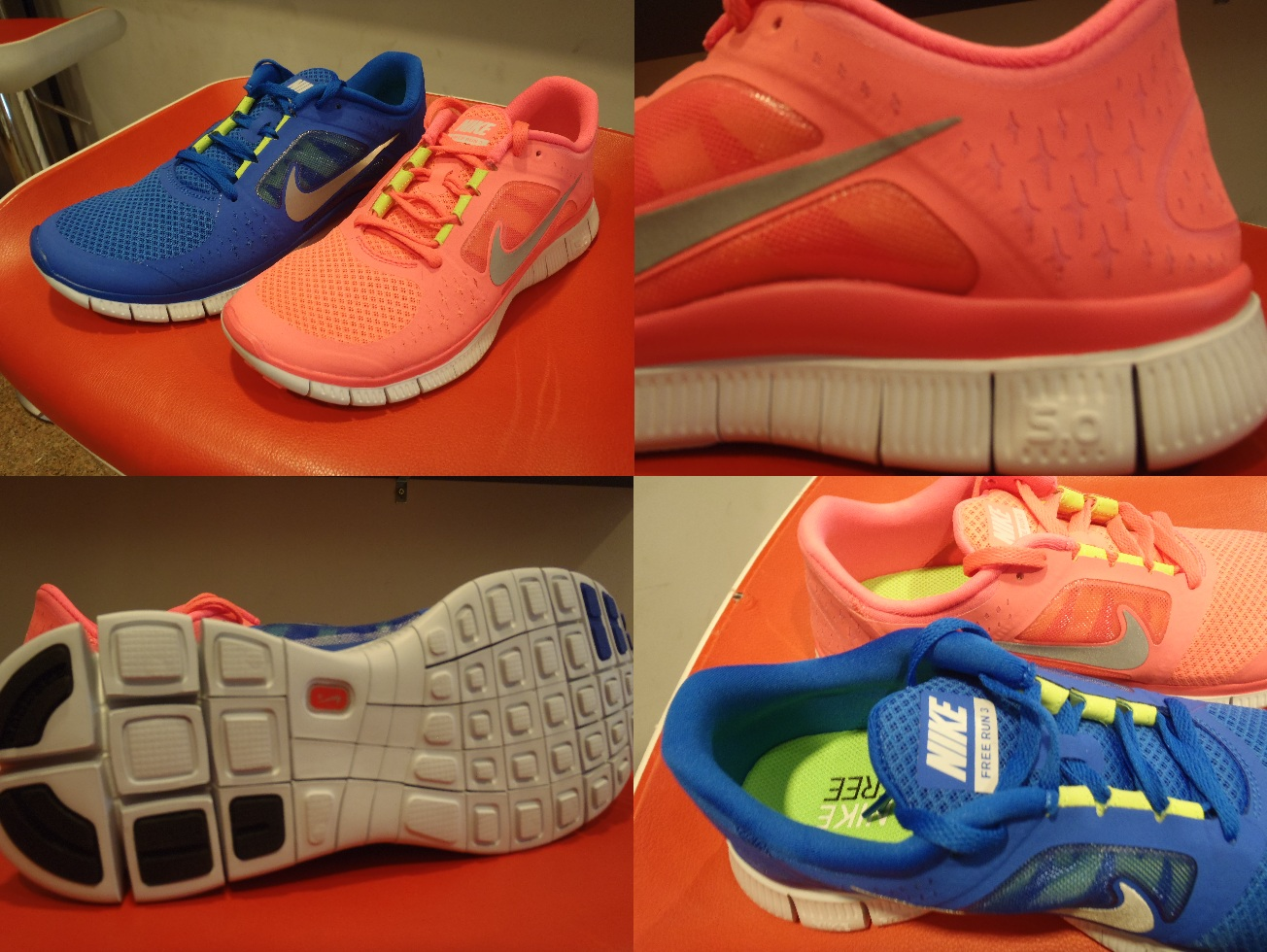 Free Run 3 Nike Colors