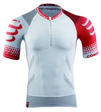 Trail Running Shirt - SHORT SLEEVE - White
