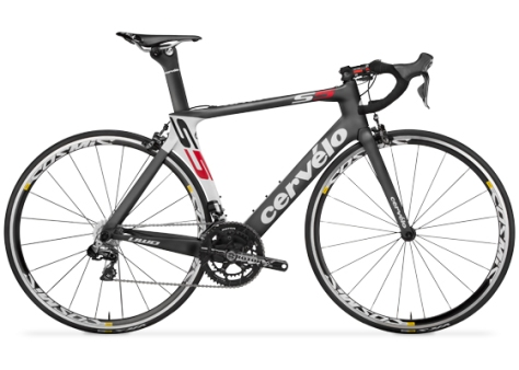Quite simply the fastest road bicycle ever made, the S5VWD is also the lightest of its category, tipping the scale at a feathery 990 grams